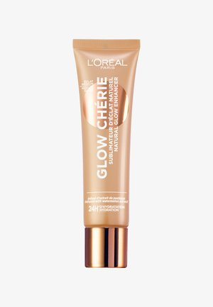 LET'S GLOW CHÉRIE NATURAL GLOW FLUID - Rozświetlacz - 03 medium glow