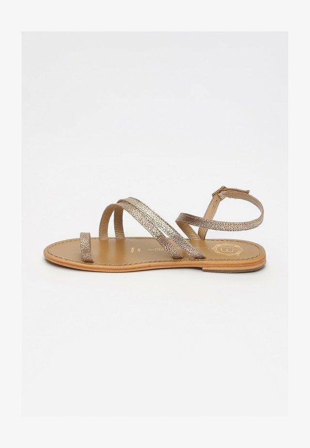 GUAYABA - Sandals - gold