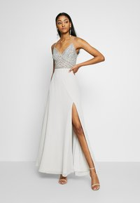 Lace & Beads - MARIELLE  - Occasion wear - light grey - 0