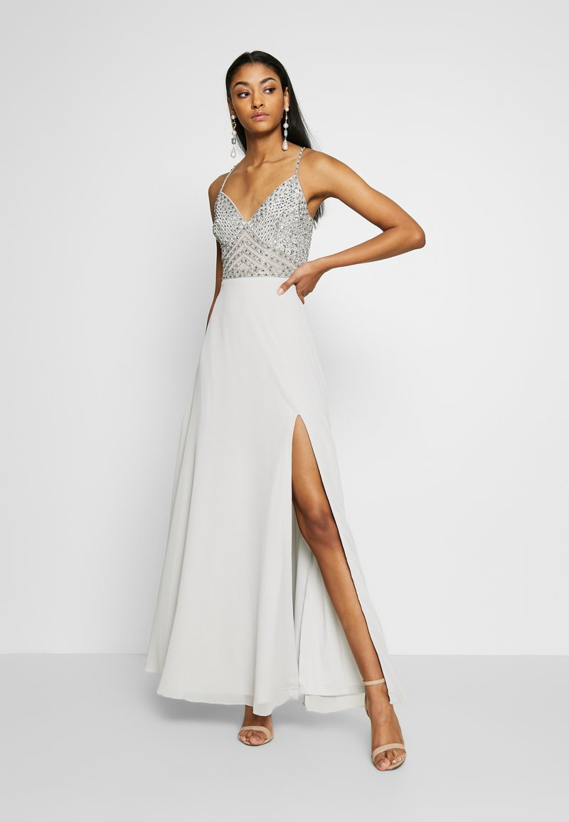 Lace & Beads - MARIELLE  - Occasion wear - light grey