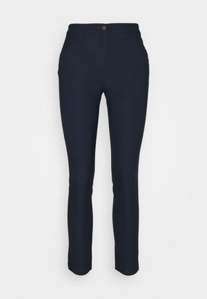 WOMENS CAPRI - Trousers - navy