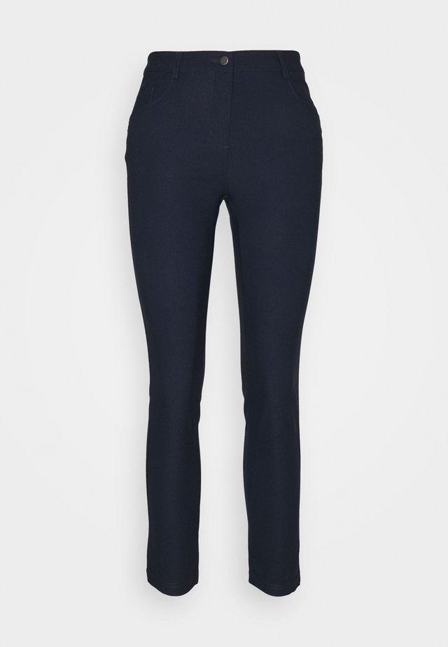 WOMENS CAPRI - Pantalon classique - navy