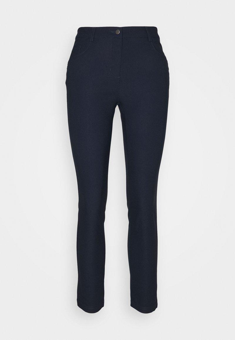 Cross Sportswear - WOMENS CAPRI - Trousers - navy