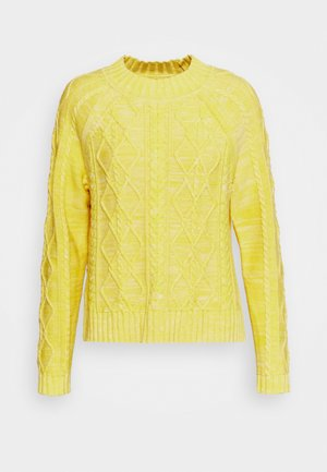 CABLE CREW - Trui - misted yellow