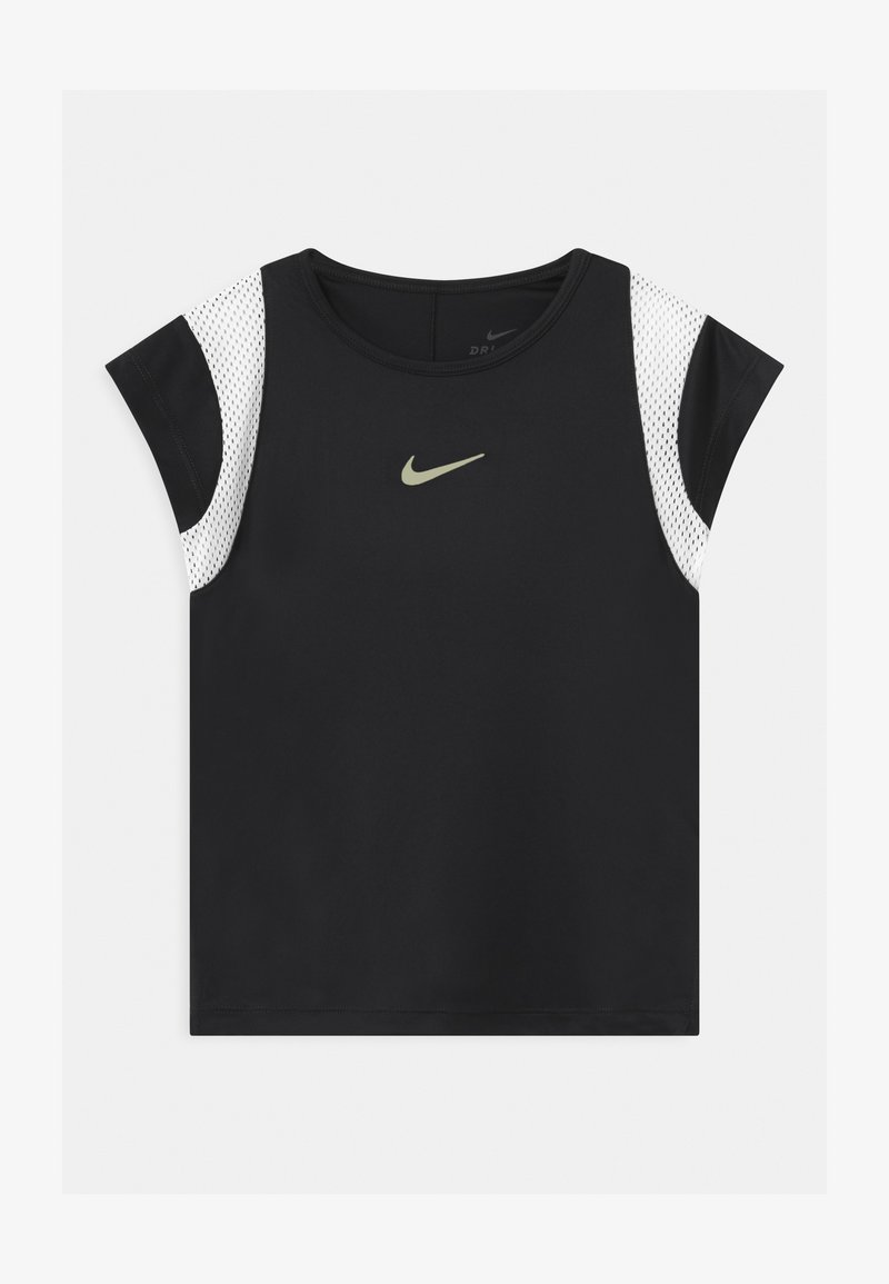 Nike Performance - DRY - Camiseta estampada - black/white