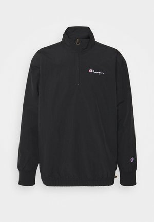 HALF ZIP - Summer jacket - black