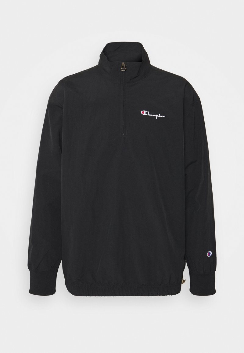 Champion Reverse Weave - HALF ZIP - Summer jacket - black