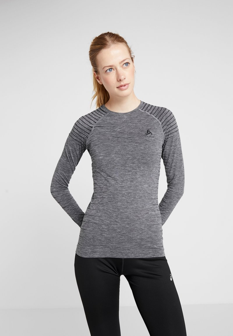 ODLO - CREW NECK PERFORMANCE LIGHT - Funkční triko - grey melange