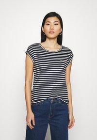 Esprit - TEE - Print T-shirt - navy - 0