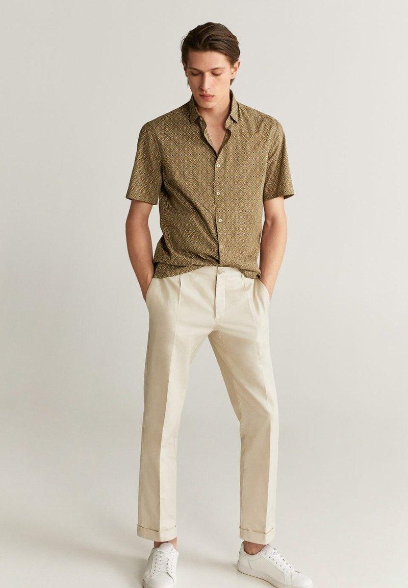 Mango - Formal shirt - beige
