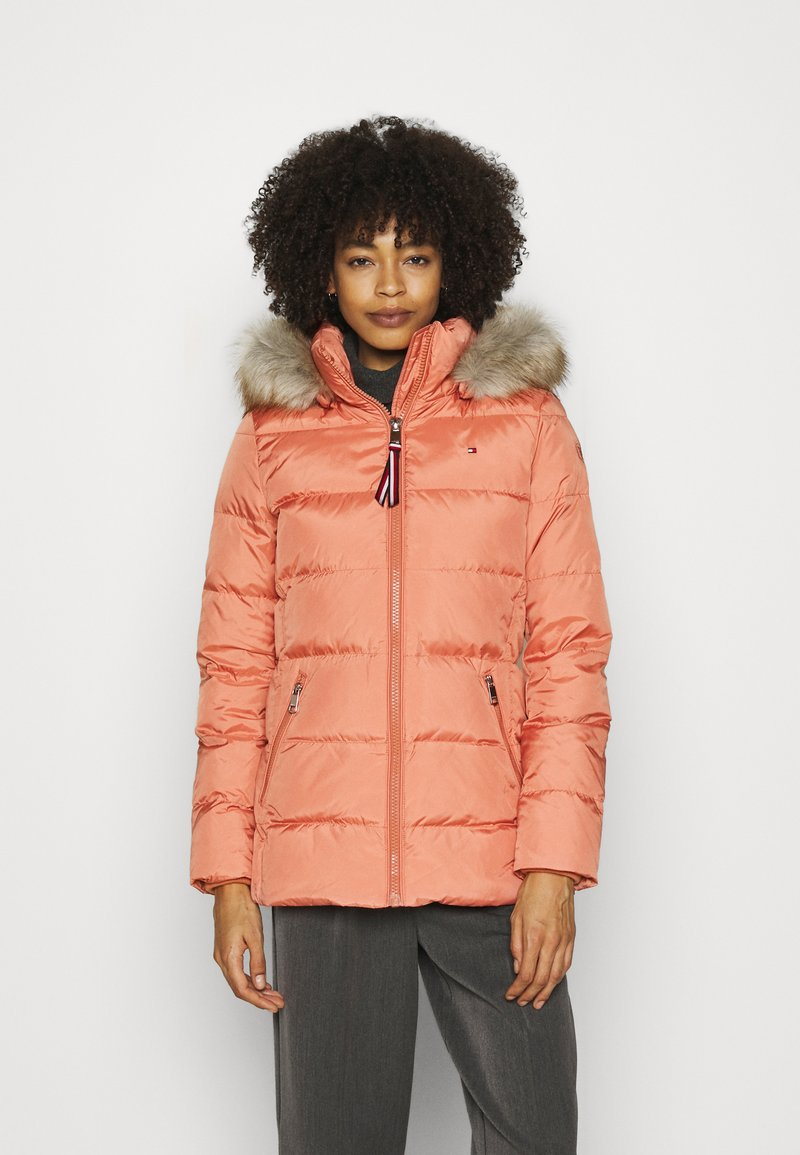 Tommy Hilfiger - BAFFLE - Doudoune - clay pink
