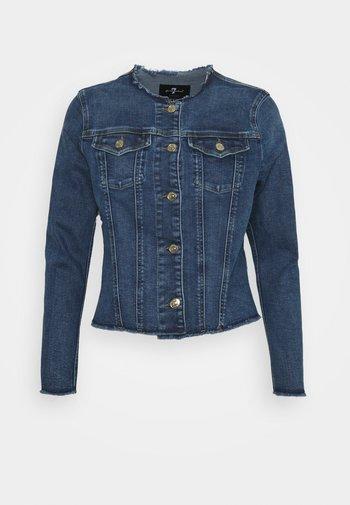 JACKET SLIILLBEY - Jeansjakke - light blue