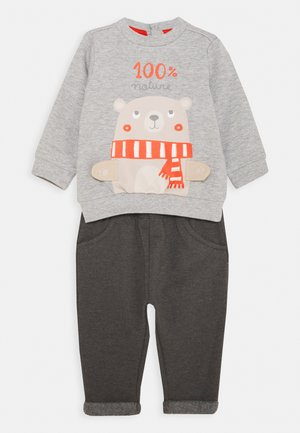 TROUSERS SET - Felpa - glacier gray