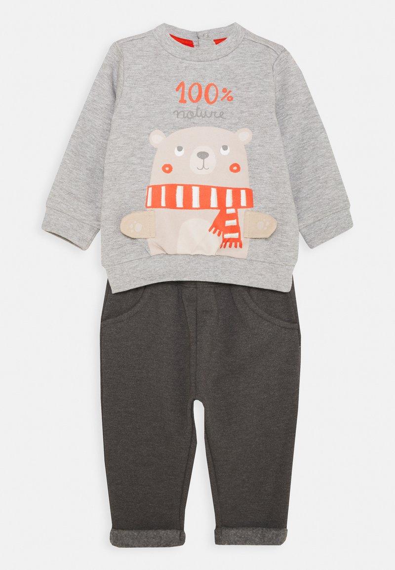 OVS - TROUSERS SET - Sweater - glacier gray