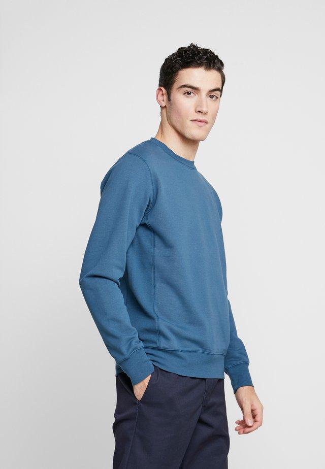 THE ORGANIC - Sweatshirt - petroleum blue