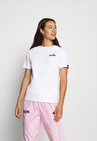 Ellesse - MONTAL - T-shirts print - white - 0