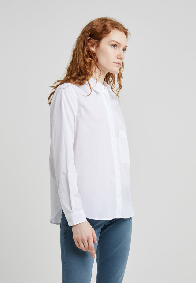 HAILEY - Button-down blouse - white