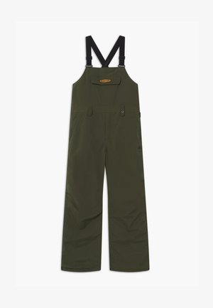 SKYLAR UNISEX - Snow pants - forest night
