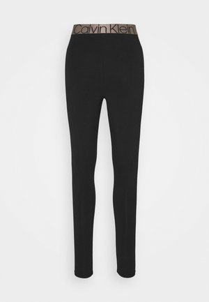 ICONIC LOUNGE LEGGING - Nattøj bukser - black
