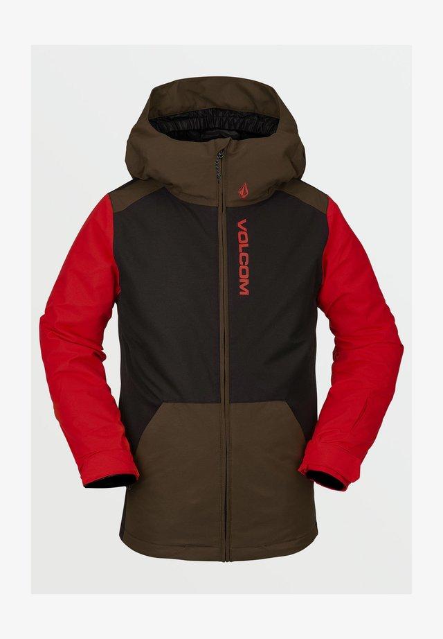 Snowboard jacket - black_military