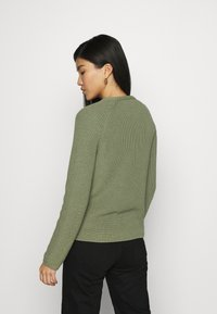 Marc O'Polo - LONG SLEEVE - Jumper - dried sage - 2