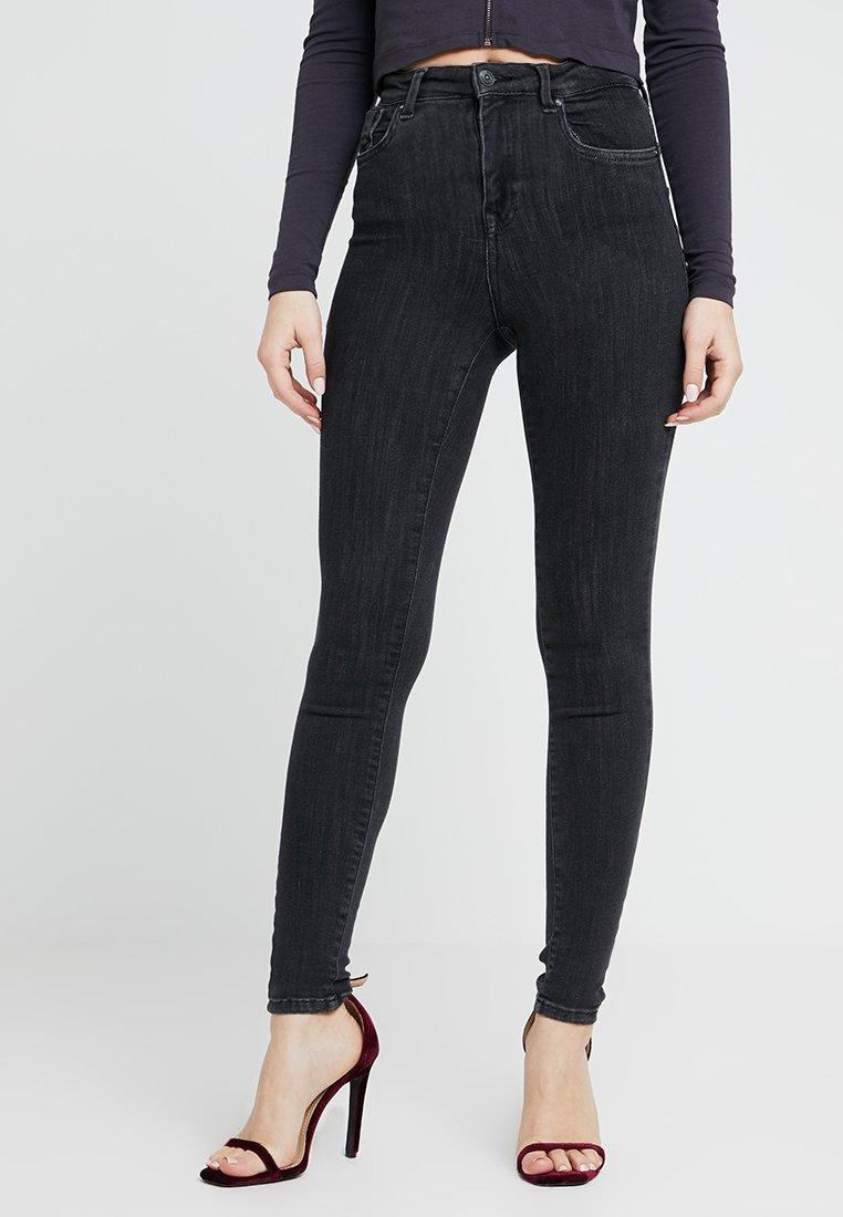 Women ONLPOWER MID PUSH UP - Jeans Skinny Fit