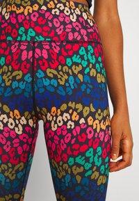 Never Fully Dressed - RAINBOW LEOPARD LEGGINGS - Leggings - Trousers - multi - 4