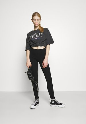 VMMAXI LONG 2 PACK  - Leggings - Trousers - black