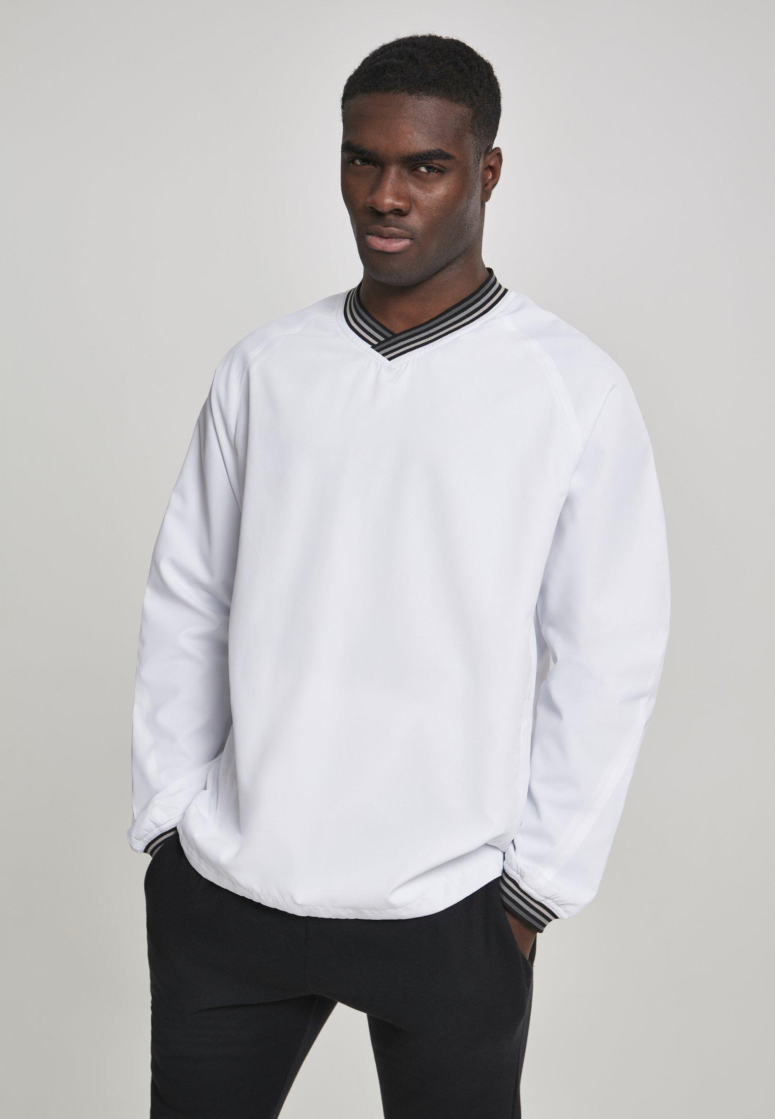 Homme RIB STOP V-NECK PULL OVER - Sweatshirt