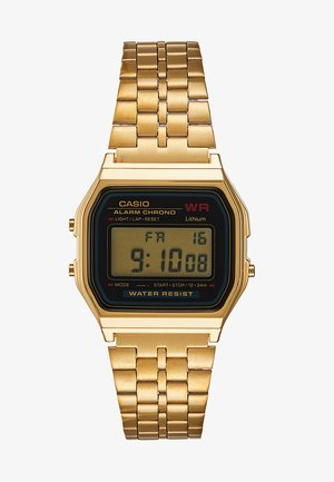 COLLECTION RETRO - Digital watch - goldfarben