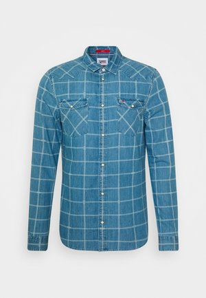 CHECK WESTERN - Camicia - light indigo