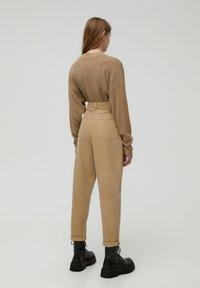 PULL&BEAR - Kalhoty - brown - 2