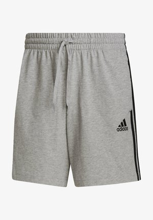 AEROREADY ESSENTIALS 3-STRIPES SHORTS - kurze Sporthose - grey
