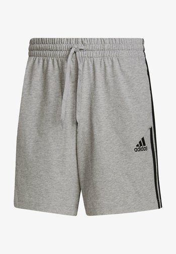 AEROREADY ESSENTIALS 3-STRIPES SHORTS - Pantaloncini sportivi - grey