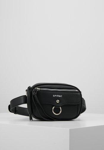 LABEL BUM BAG - Bum bag - black