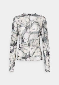 Monki - FAIRLY TOP - Maglietta a manica lunga - marble stone - 5