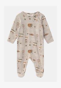 Joha - FOOT UNISEX - Sleep suit - taupe - 0