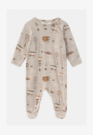 FOOT UNISEX - Sleep suit - taupe