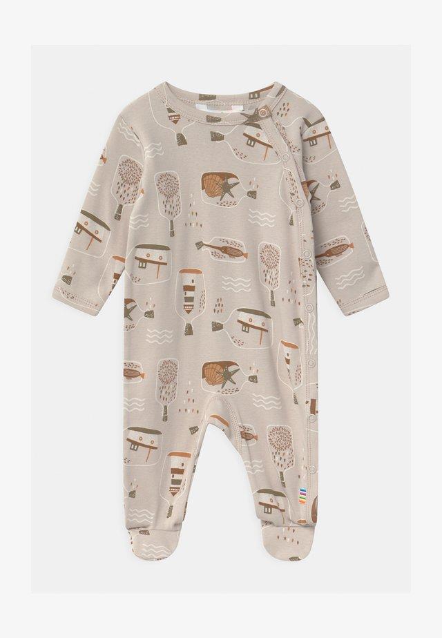 FOOT UNISEX - Sleep suit - taupe