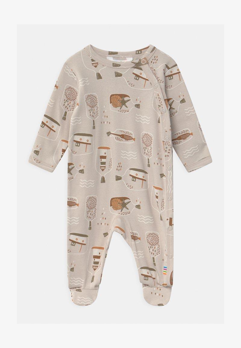 Joha - FOOT UNISEX - Sleep suit - taupe