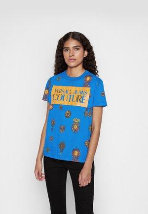 T-shirt med print - blue