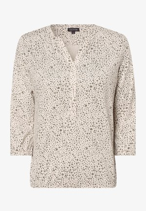 Long sleeved top - off-white, grey