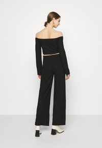 Nly by Nelly - DRAWSTRING SET - Jumper - black - 4