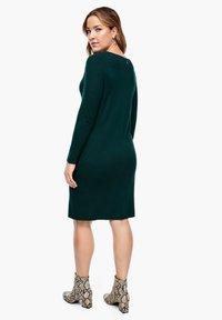 Triangle - Shift dress - emerald - 2