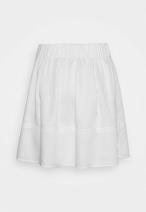 KIA TENCEL 1845 - A-line skirt - white