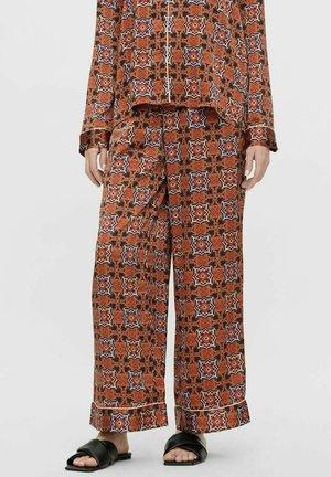 Pyjama bottoms - mocha bisque