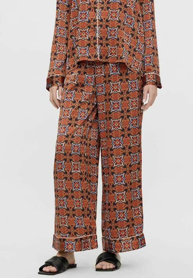Pyjamabroek - mocha bisque