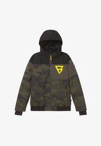 Brunotti - KEATON BOYS - Snowboardová bunda - pine grey - 5