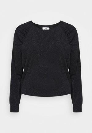 GLITTER TUTU - Long sleeved top - black