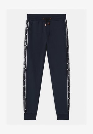 SHIELD TAPE  - Tracksuit bottoms - blue hera